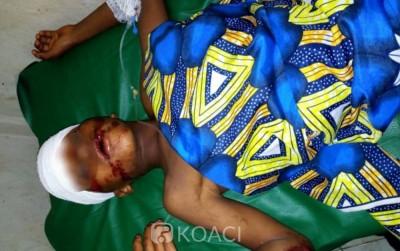 Côte d'Ivoire : Bouaké, renversé puis abandonné par le véhicule d'un ministère, un en...