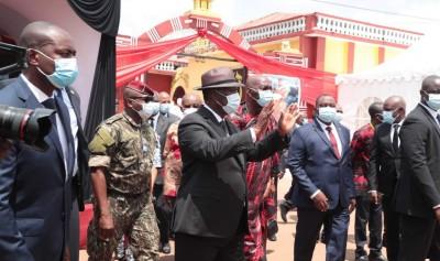 Côte d'Ivoire : Obsèques du Roi du Djuablin ce vendredi à  Agnibilékrou, Ouattara annoncé
