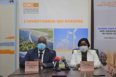 Côte d'Ivoire : Économie, pour les Ivoiriens de la diaspora, signature de convention entre la CDC-CI une maison d'assurance