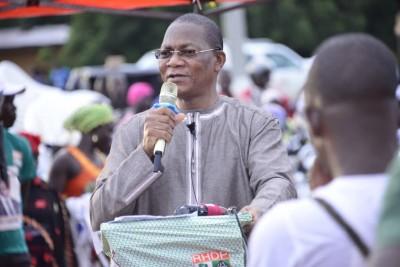 Côte d'Ivoire : Depuis Kolia, Bruno Koné rassure que le scrutin présidentiel se tiendra le 31 octobre prochain