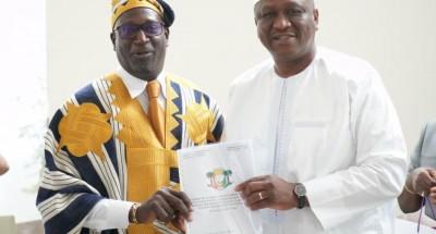 Côte d'Ivoire : Après le rapport de mission de Méambly, Hamed Bakayoko reçoit les élu...