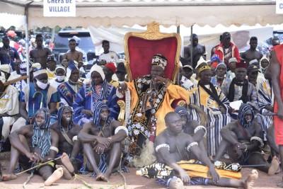 Côte d'Ivoire : Intronisation du nouveau chef de Kouto, le ministre Sidiki Diakité rappelle la place de la chefferie dans le projet de société d'Alassane Ouattara