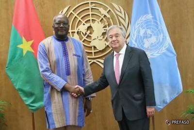 Burkina Faso : La réforme de l'ONU, une priorité pour l'Afrique selon le président Kaboré