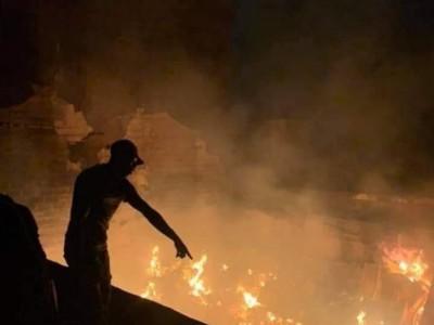 Côte d'Ivoire : Un grave incendie se déclenche à Koumassi, le véhicule d'intervention...