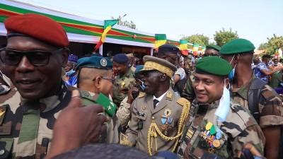 Mali : 60ème anniversaire de l'indépendance, l'ex-putschiste Amadou Sanogo fait son apparition publique