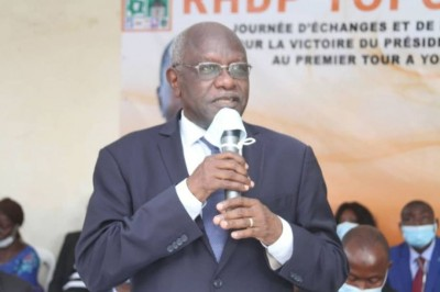 Côte d'Ivoire : Kafana Koné aux ex-militants du PDCI : « Nous devons tous agir pour préserver la paix afin que les élections se tiennent dans de bonnes conditions »