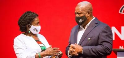 Ghana :  Présidentielle 2020, Mahama suspend sa tournée et interpelle la communauté internationale