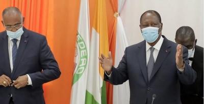 Côte d'Ivoire : Alassane Ouattara frappe fort : « La place de Guillaume Soro n'est pas dans la campagne électorale mais en prison »
