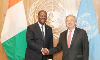 Côte d'Ivoire : 75e Assemblée Générale des Nations Unies, allocution d'Alassane Ouattara