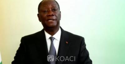 Côte d'Ivoire : A la tribune de l'ONU via visioconférence Alassane Ouattara évoque la Présidentielle à venir :  « cette élection intervient dans un environnement démocratique »