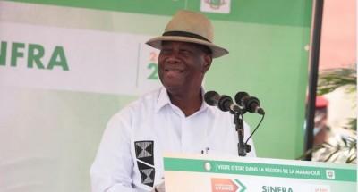 Côte d'Ivoire : Sinfra, Ouattara rend hommage à Bi Ballo et se dit au travail pour to...