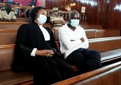 Gabon : Condamné pour « détournement de fonds », l' ex ministre Magloire Ngambia sort...