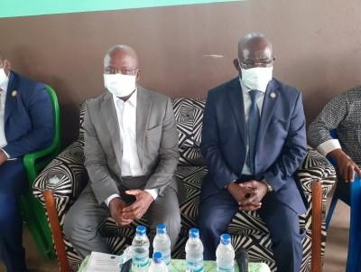 Côte d'Ivoire : En marge de la visite d'État dans la Marahoué, Moussa Dosso rencontre les ressortissants du Woroba à Sinfra pour parler du candidat du RHDP