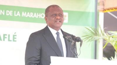 Côte d'Ivoire :   Depuis Bouaflé, Hambak se déchaîne et demande à ADO de lancer un appel pour répondre à l'appel à la désobéissance civile lancé par l'opposition