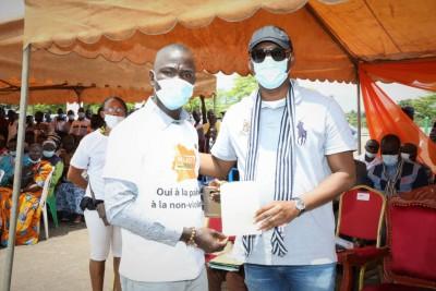 Côte d'Ivoire : Depuis Guiglo, des jeunes face au ministre Mamadou Touré lancent, « N...