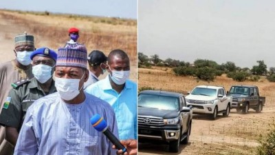 Nigeria : Etat de Borno, une attaque contre un convoi du gouverneur fait 30 morts