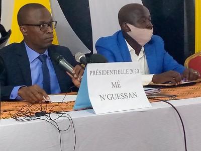 Côte d'Ivoire : Scrutin présidentiel, recalé, Mé N'Guessan ne s'inscrit pas dans la l...