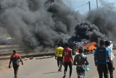Guinée : Reprise des manifestations anti-Condé, heurts avec la police à Conakry