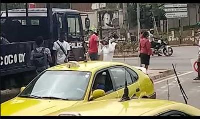 Côte d'Ivoire : Pas d'insécurité sur  la voie allant du carrefour « La vie » pour Adj...