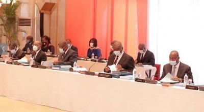 Côte d'Ivoire : Le projet de budget pour l'année 2021 adopté, 8621,1 milliards de FCFA, progression de 6,9% par rapport à 2020