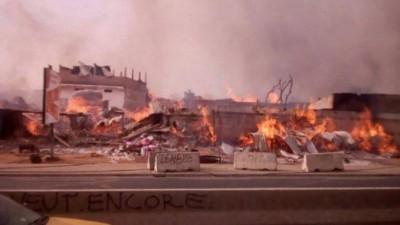 Sénégal : Le marché historique de Dakar ravagé par un incendie dans la nuit du Samedi