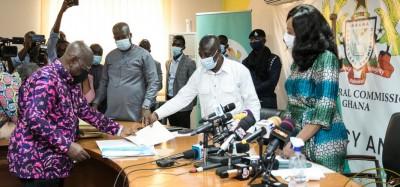 Ghana :  Présidentielle 2020, début du dépôt des candidatures