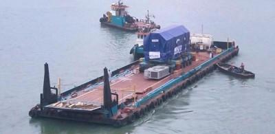Côte d'Ivoire : Nouvelle centrale thermique d'Azito, 900 tonnes de matériels livrées par Bolloré Transport & Logistics
