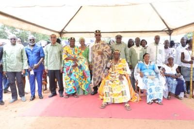 Côte d'Ivoire : Dimbokro, après 36 ans d'attente, le 8 ème chef d'un village investi