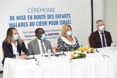 Côte d'Ivoire : Coopération dans le domaine de la santé, 5 enfants malades du cœur iront se faire opérer gratuitement en Israël