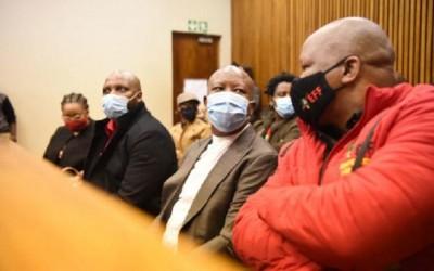 Afrique du Sud : Julius Malema en justice pour avoir agressé un policier blanc pendan...