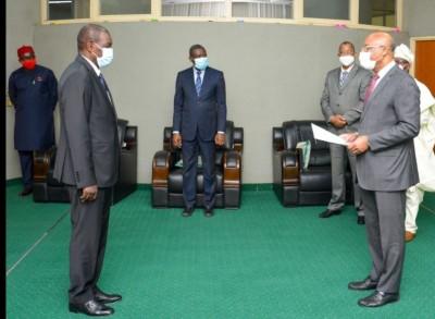 CEDEAO : Le Chef de Mission ivoirien Kalilou Traoré accrédité auprès de la commission présidée par  Jean-Claude Brou