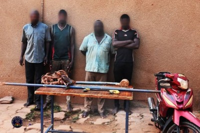 Burkina Faso : Des voleurs de câbles des opérations téléphoniques interpellés après des actes de sabotage