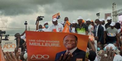 Côte d'Ivoire : A 12 jours du vote présidentiel, depuis Yopougon, Hamed Bakayoko « le match est fini, ceux qui rêvent à déstabiliser la Côte d'Ivoire sont dans l'illusion»