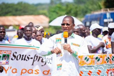 Côte d'Ivoire : Présidentielle 2020, depuis la Bagoué, Bruno Koné invite les populati...