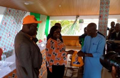 Côte d'Ivoire : Depuis  le Cavally, Anne Ouloto affirme que l'opposition est incapable de se mettre ensemble pour aller aux élections