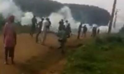 Côte d'Ivoire : Tensions « Adjoukrou-Malinkés »  à Dabou, un groupe d'individus  non...