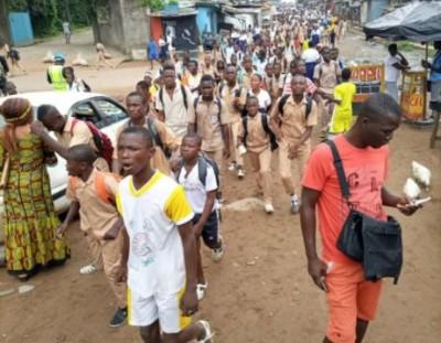 Côte d'Ivoire : Quand la  Perturbation des cours fait anticiper la date des  congés  de Toussaint pour ce vendredi
