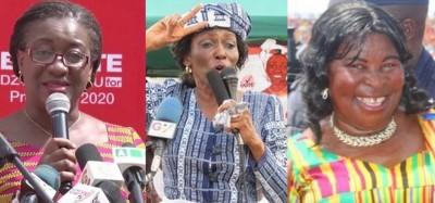 Ghana :  Présidentielle 2020, Trois femmes parmi les 12 candidats, ordre sur le bulle...