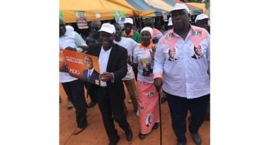 Côte d'Ivoire : En campagne pour le RHDP à Bayota, Abel Djohoré sans pitié pour Affi, Bédié et Soro