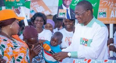 Côte d'Ivoire : Élection 2020, face à l'appel au boycott de l'opposition, Bruno Koné invite les populations de la Bagoué à retirer leurs cartes d'électeurs et à voter Ouattara