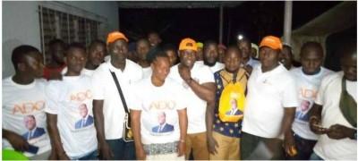 Côte d'Ivoire : Cavally , l'honorable Gui Hervé Serode sur le terrain pour une victoi...
