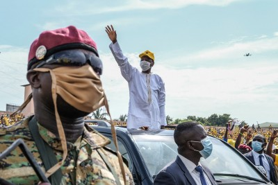 Guinée : Avec 59,49%,Alpha Condé proclamé vainqueur de la Présidentielle, son rival C...