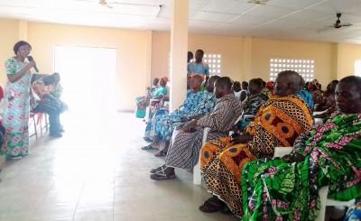 Côte d'Ivoire: De retour à Diabo après son périple dans le Iffou, un cadre des Houpho...
