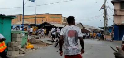 Ghana : Heurts entre partisans du NDC et NPP à Accra, des blessés signalés