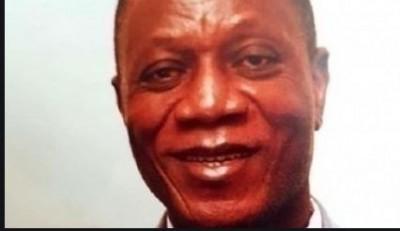 Côte d'Ivoire : Décès de l'ex-secrétaire exécutif du Comité national de pilotage du redéploiement de l'administration en zone ex CNO