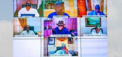 Nigeria :  Concertation entre Buhari et les anciens Présidents sur les manifestations