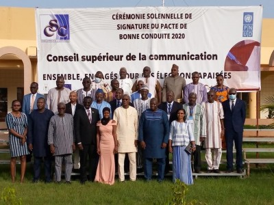 Burkina Faso : Un pacte de bonne conduite pour les élections couplées