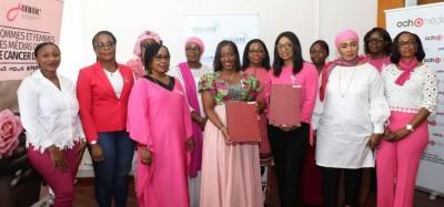 Côte d'Ivoire : Lutte contre le cancer du sein et du col de l'utérus, Bolloré Transpo...