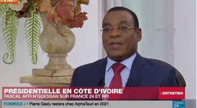 Côte d'Ivoire : À deux jours du vote, Affi martèle que l'opposition ne reconnaîtra pa...