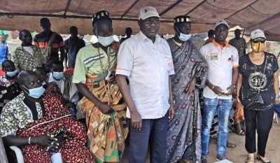 Côte d'Ivoire : Bouaké, sous la houlette d'un cadre RHDP, tout un canton s'engage à donner 95% des voix à ADO